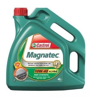 Castrol Magnatec 10w40 motorolaj4 liter