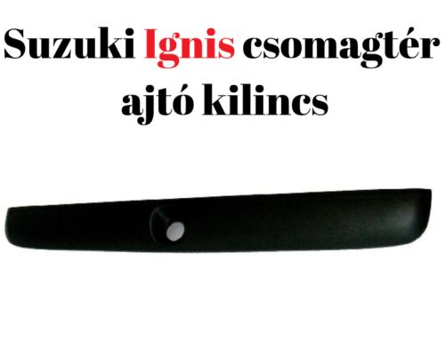 Suzuki Ignis csomagtér-ajtó kilincs: letört már, vagy csak le fog törni?