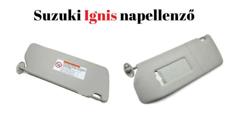 Mit tehetünk az állandóan szemünk elé hulló Suzuki Ignis napellenzővel?
