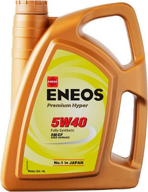 Eneos 5w40 Premium Hyper szintetikus motorolaj 4 L Nippon Oil