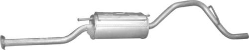 Suzuki Alto hátsó kipufogó dob 1.1 benzin (P25.65)