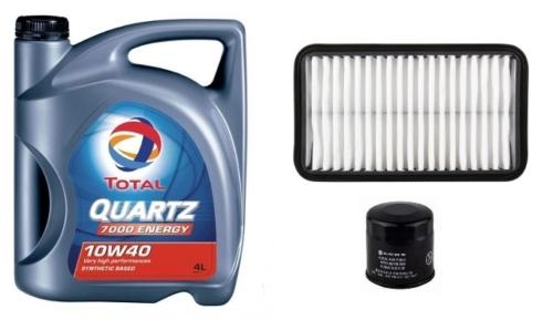 Suzuki Alto olajcsere szett 1.1 2002-2006 levegõszûrõ