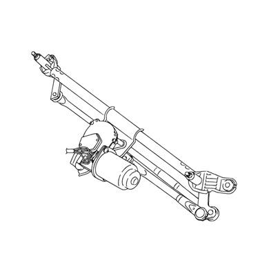 Suzuki Swift ablaktörlõ mechanika és motor 2005-2007 38100-62J00