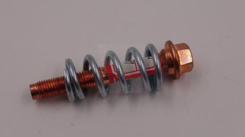 Suzuki swift kipufogó rögzítõ csavar +  rugó leömlõhöz 1.0-1.3 1990-2003 09119-10041
